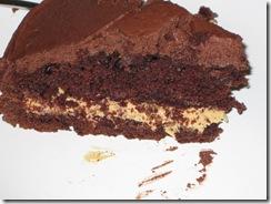 pnutbtter choc cake