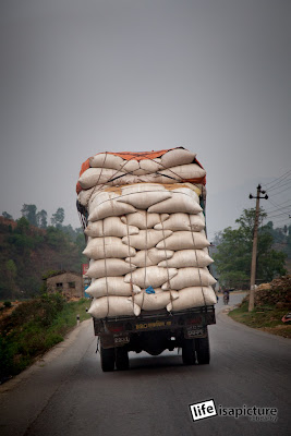 Nepali trucks can carry heavier freight