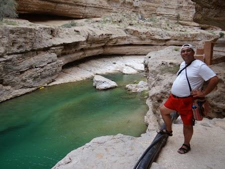 Trekking in Wadi Shab