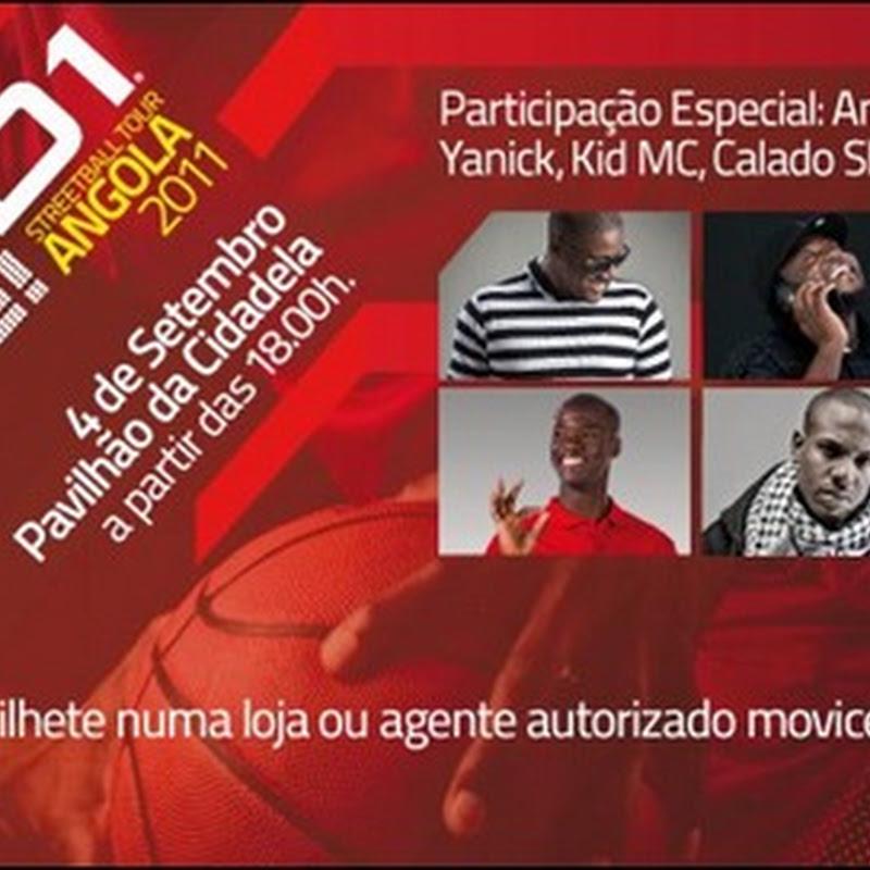 And 1 Live 2011 – Angola Vs EUA (Dia 4 de Setembro)