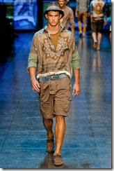 D&G Menswear Spring Summer 2012 Collection Photo 20