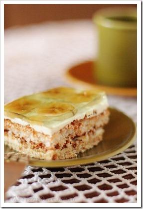 Przy Dużym Stole: Proste ciasto bez pieczenia, z bananami