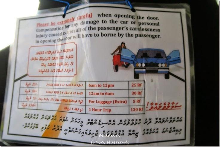 馬爾地夫 交通渡輪計程車飛機公車 (9)