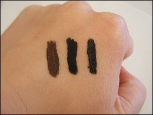 L'Oreal Brown HIP Color Truth Cream Eyeliner Swatch