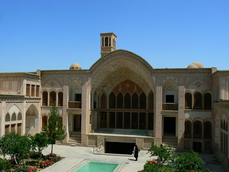 Kashan traditional villa