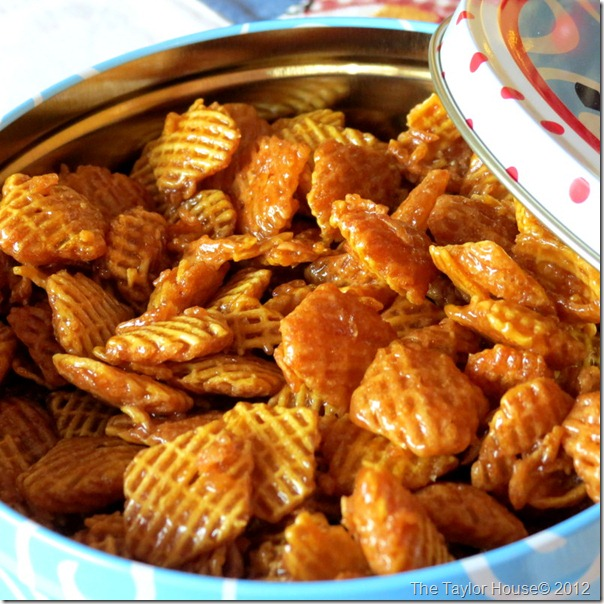 Chex Mix Recipes Caramel Chex Mix The Taylor House