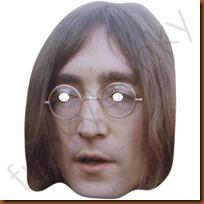 Máscara de John Lennon