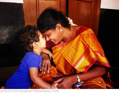 'God could not be everywhere, so he created mothers.' photo (c) 2009, Sundaram Ramaswamy - license: http://creativecommons.org/licenses/by/2.0/