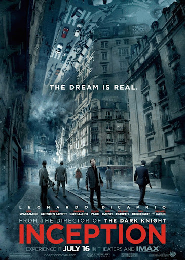 Inception ending interpretations poster