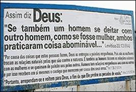 outdoor homofobico Ribeirão Preto