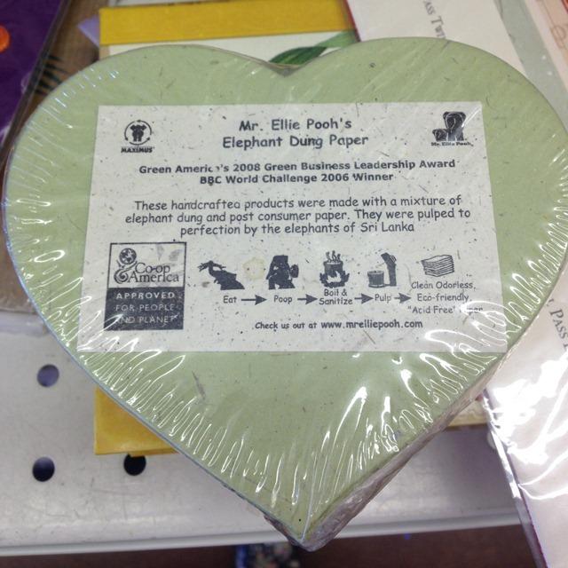 thriftscorethursday elephant poop paper