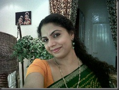 asha sarath closeup hot _in saree