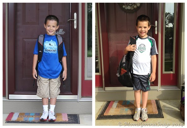2014-06-06  2nd grade -- First vs Last Day