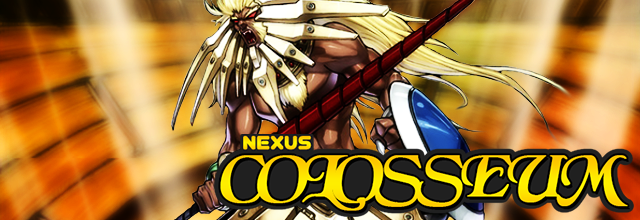 O Nexus Colosseum é patrocinado pela Colyseum Card & Games!