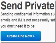 Inviare per email informazioni che si autodistruggono dopo la prima lettura