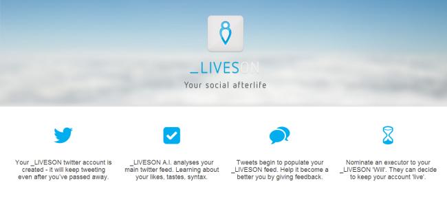 LivesOn: Για να «τουϊτάρετε» και μετά θάνατον…