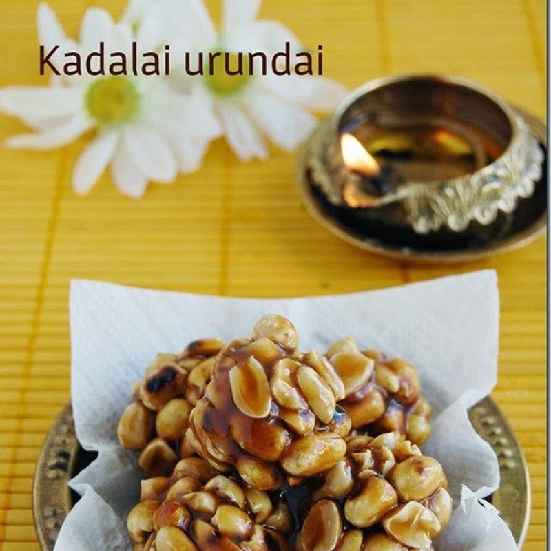 Kadalai urundai / Peanut balls