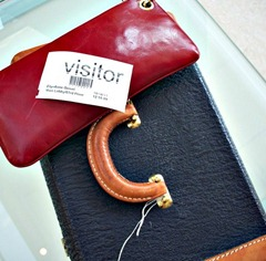 New York_Country Living visitor pass and clutch