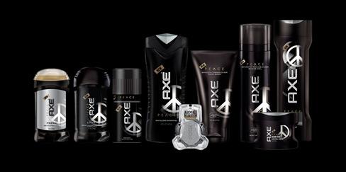 AXE Peace tuotteet