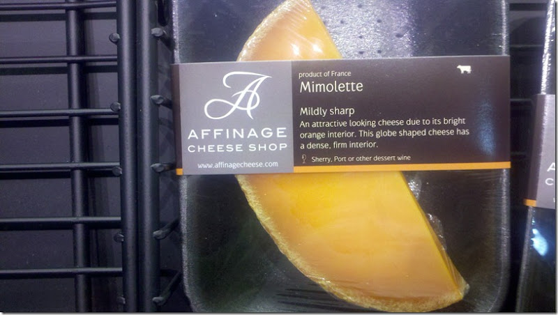 Cheese Mimolette