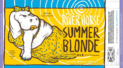 River Horse Summer Blonde Ale Coming To 12oz Cans Mybeerbuzz Com