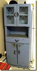 cute midcentury metal cabinet