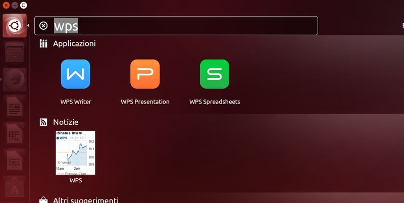WPS Office in Ubuntu