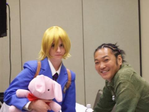 HunnyKun_with_Kappei_Yamaguchi_by_SailorUsagiChan