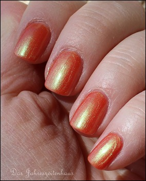 Lackaktion Orange mpk Nails Lachs-effekt 2