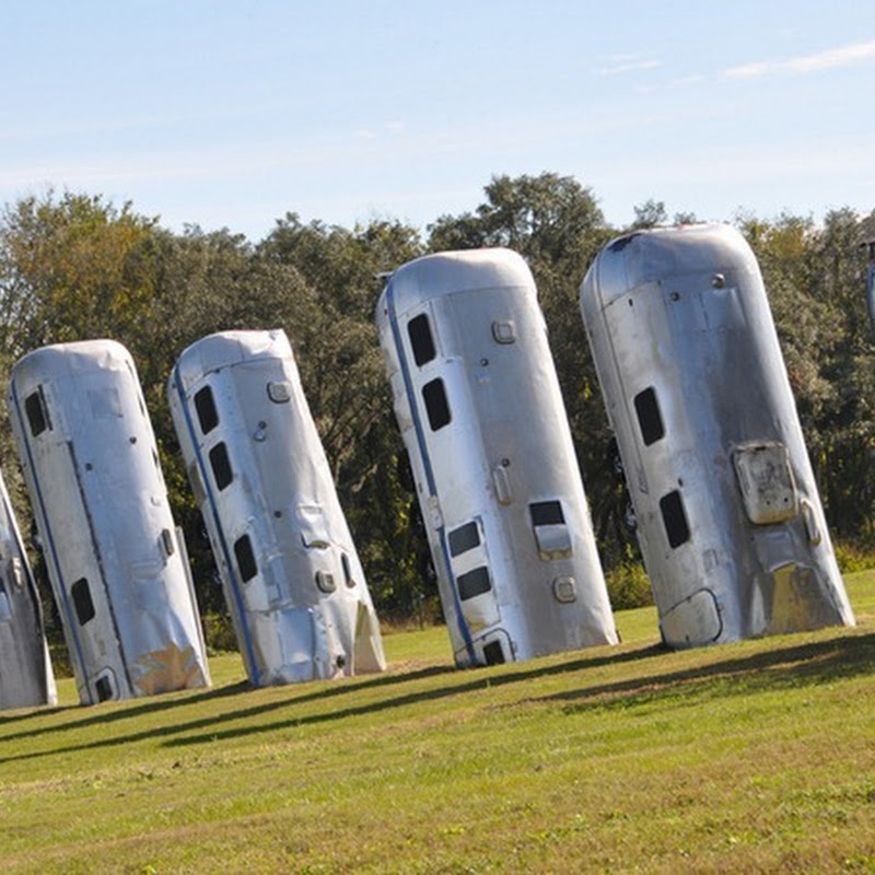 Curious Vehicular Art Installation in Texas