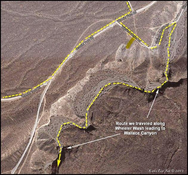 Wallace Canyon Road