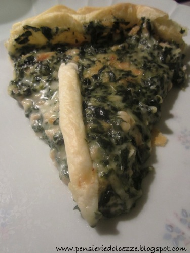 Quiche Salmone e Spinaci 3