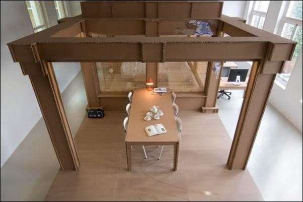 Des bureaux en carton (3)