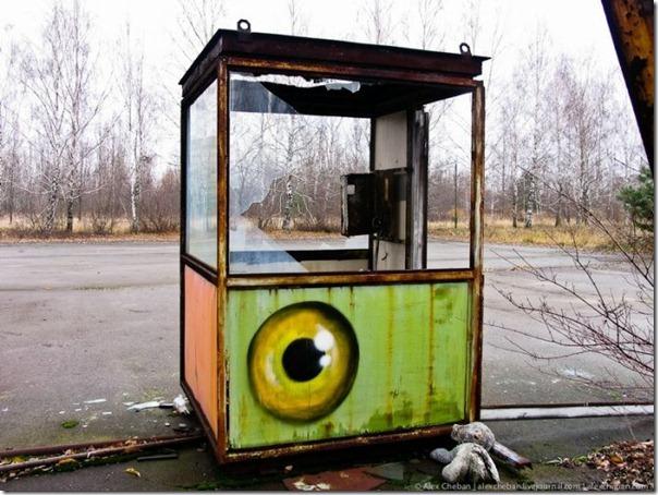 Grafite em Chernobyl (2)