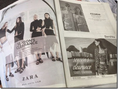 Inditex Group SALE ad