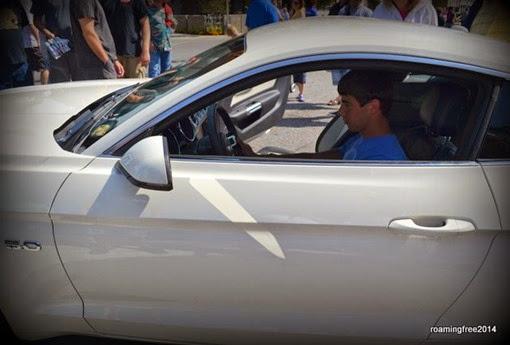 Nicolas' New Car - he wishes!!