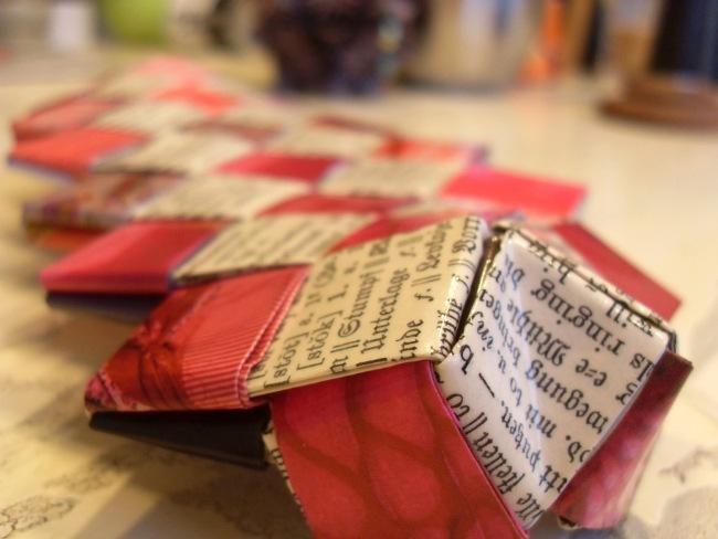 Pink papirflet
