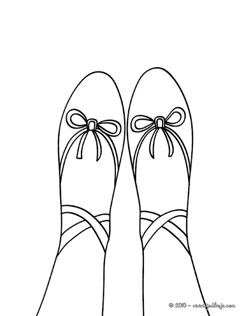 additionally Black And White Retro Bety Lou Nufoot Women besides Ballet Pictures To Color additionally 10 besides Colorear Zapatillas De Ballet. on boys ballet slippers