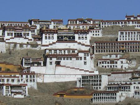 Tibet photos: Ganden monastery