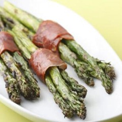 Asparagas Proscuitto Wrapped