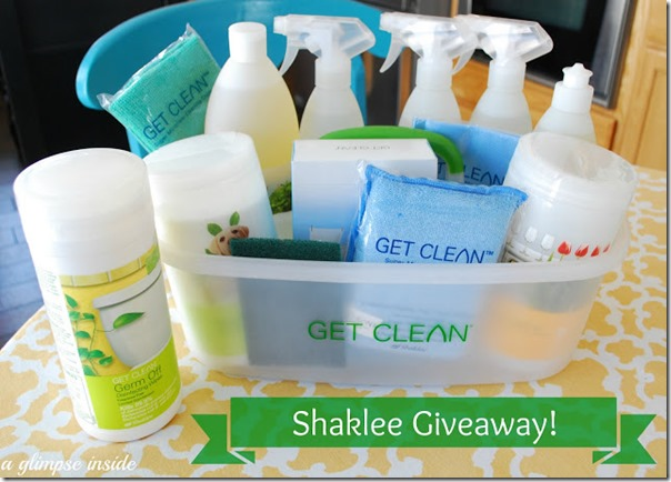 shaklee giveaway A Glimpse Inside