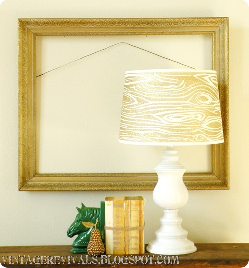 Wood Grain Lampshade 012