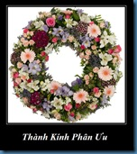Funeral wreath thanh kinh