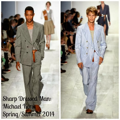Sharp Dressed Man Men's Michael Kors 2014
