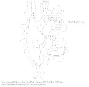 [AA]Kikuchi Makoto Pitch (Puchimasu!)