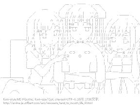 [AA]うーさー & ミス・モノクローム & りん & れん (うーさーのその日暮らし)
