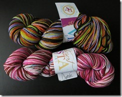 Desert Vista - Striped Yarns - Sept 2012
