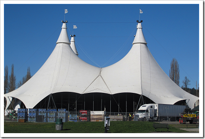Cavalia main tent