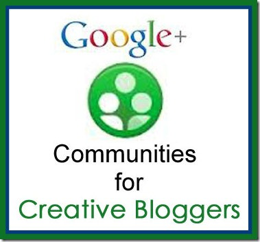 CreativeBlogger Button