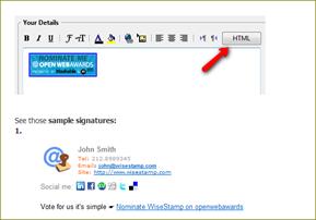 ลายเซ็นต์แนบท้ายอีเมล์แบบ html